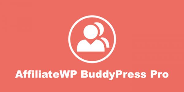 AffiliateWP BuddyPress Pro
