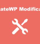 AffiliateWP Modification